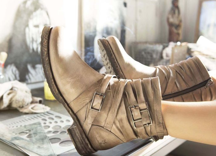Frye Veronica Strappy Leather Boot