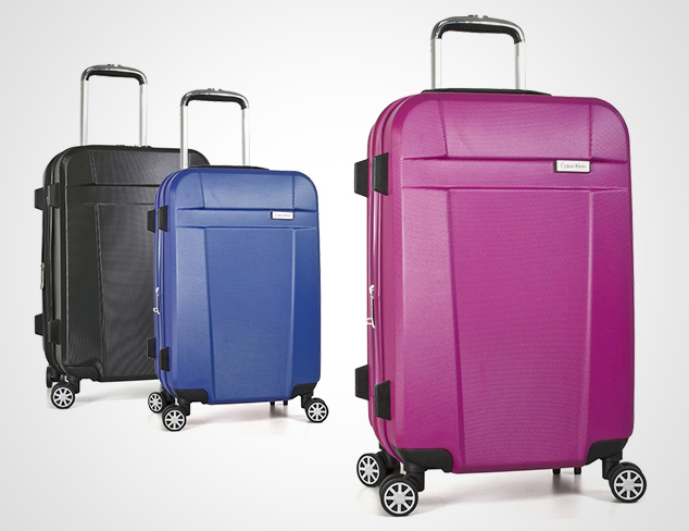 Hardcase Luggage feat. Calvin Klein at MYHABIT