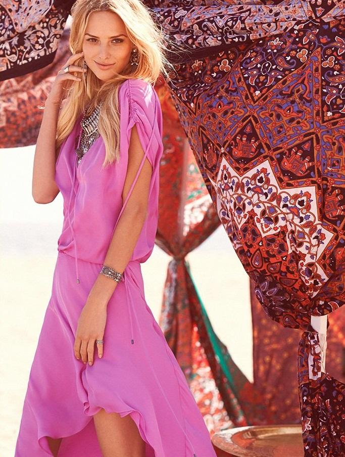 Haute Hippie Drawstring Dress
