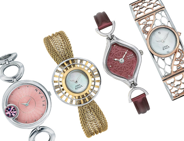 Inspired by Jewelry of India Titan Watches at MYHABIT