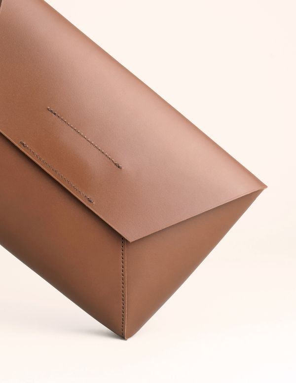 J.Crew Leather envelope clutch (2)
