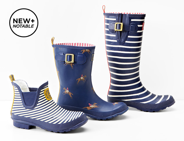 Joules Rainboots at MYHABIT