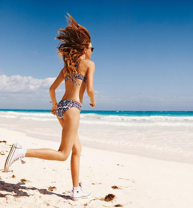 Lucky Brand Floral Hipster Bikini Bottoms