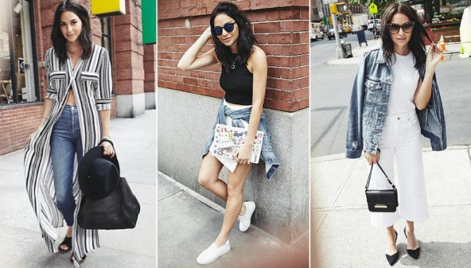Monochrome Cool Summer Outfit Ideas