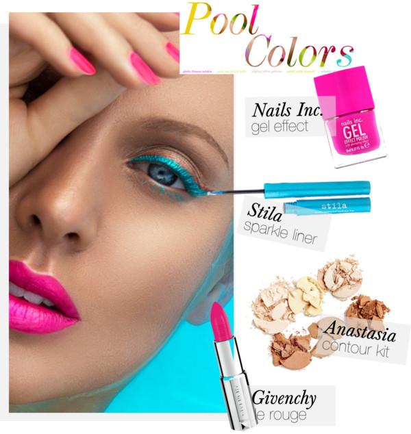 Pool Colors Makeup Guide-