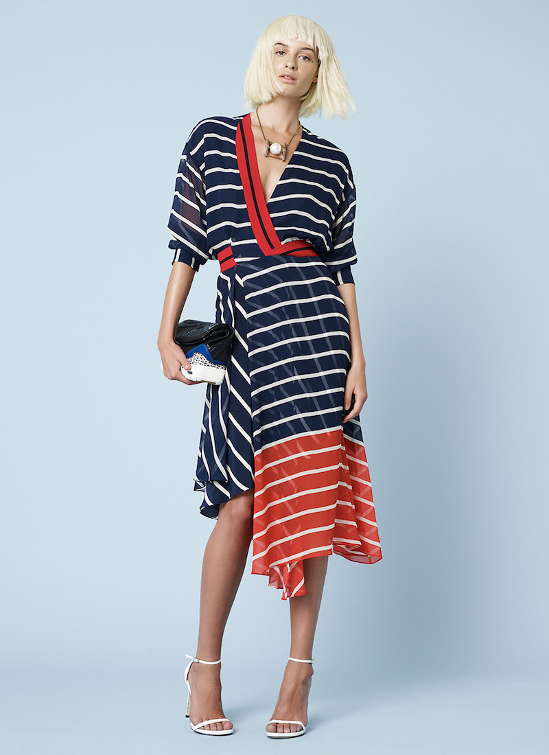 Preen by Thornton Bregazzi Flintoff Asymmetrical Dress