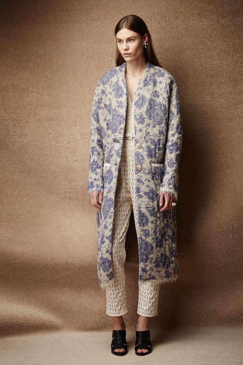 Rachel Comey Rodea Chinoiserie-woven Coat