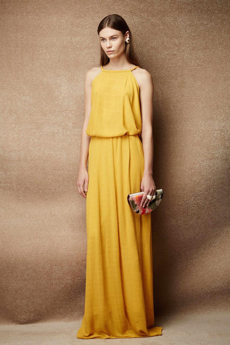 Rachel Comey Token Drop-back Maxi Dress