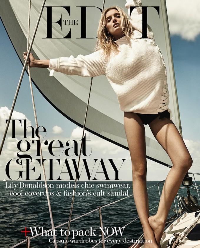 Ray Of Light: Lily Donaldson for The EDIT