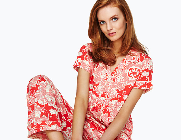 Ready to Relax Pajamas, Robes & More at MYHABIT