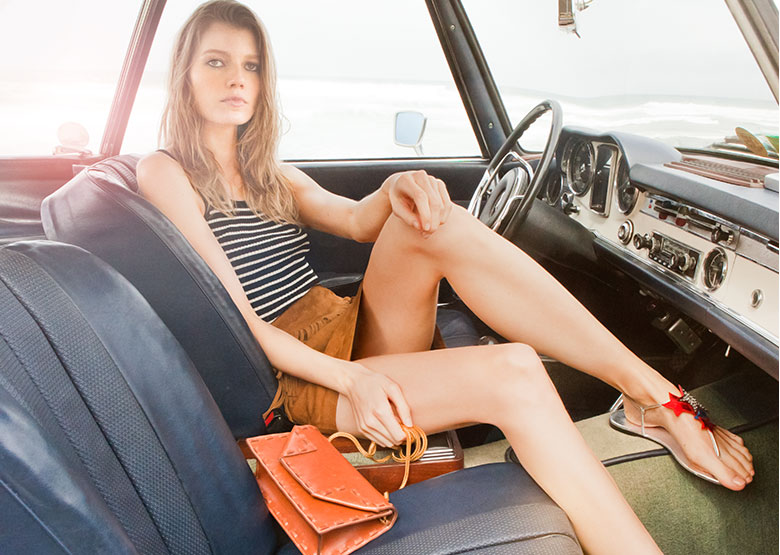 Saint Laurent Fringed Suede Mini Skirt