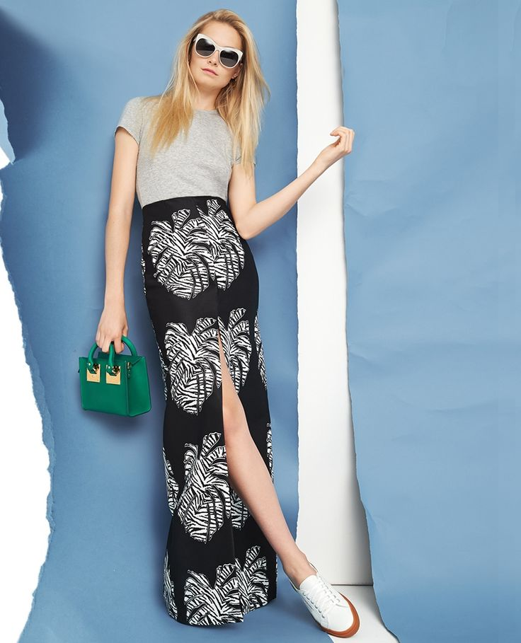 Solace London Cassie Maxi Skirt