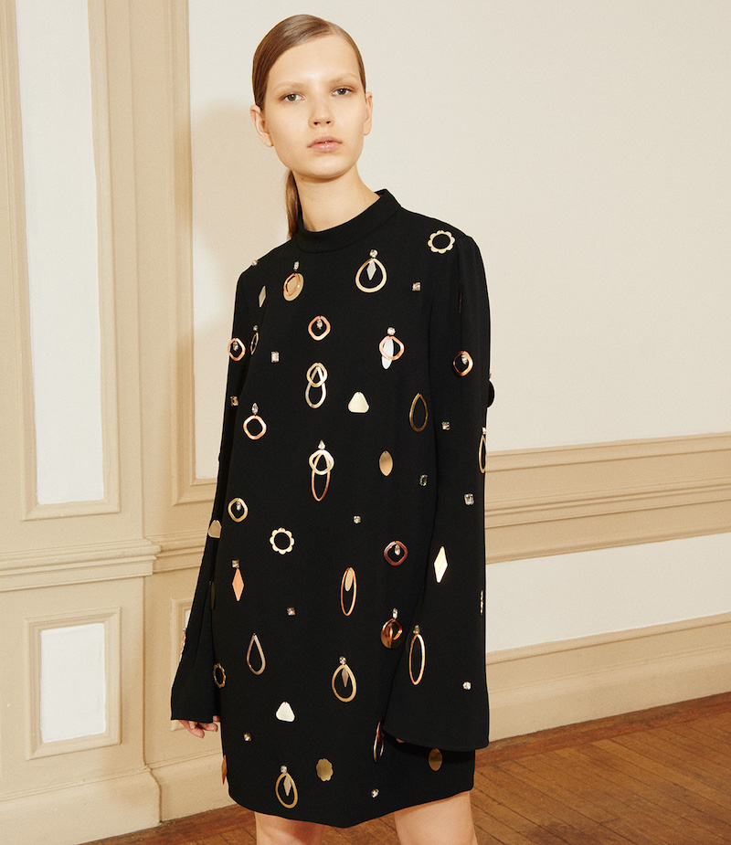 Stella McCartney Embellished Viac Tunic Dress