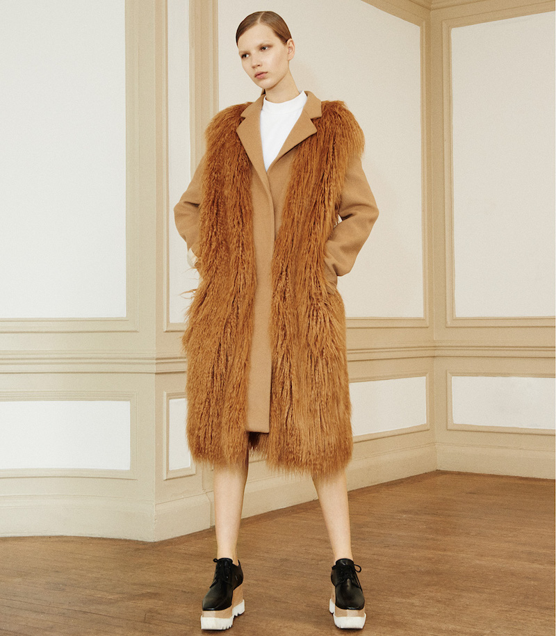 Stella McCartney Faux-Fur Erindale Coat