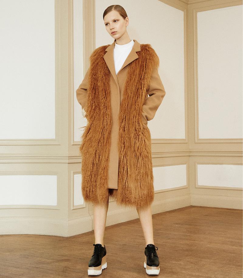 Stella McCartney Faux-Fur Erindale Coat