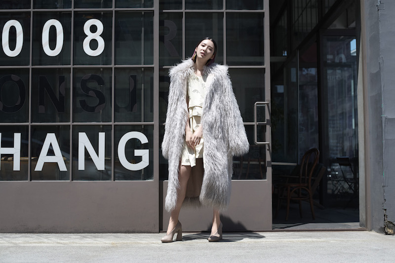 Stella McCartney Fur Free Fur Thelma Coat