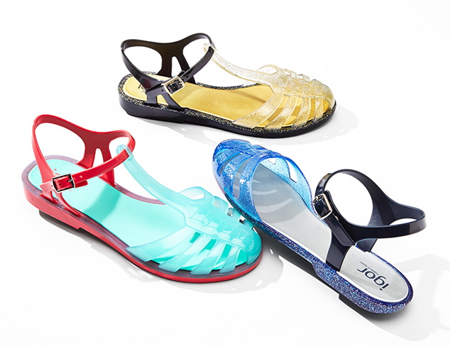 Step Into Summer Jelly Sandals at MYHABIT