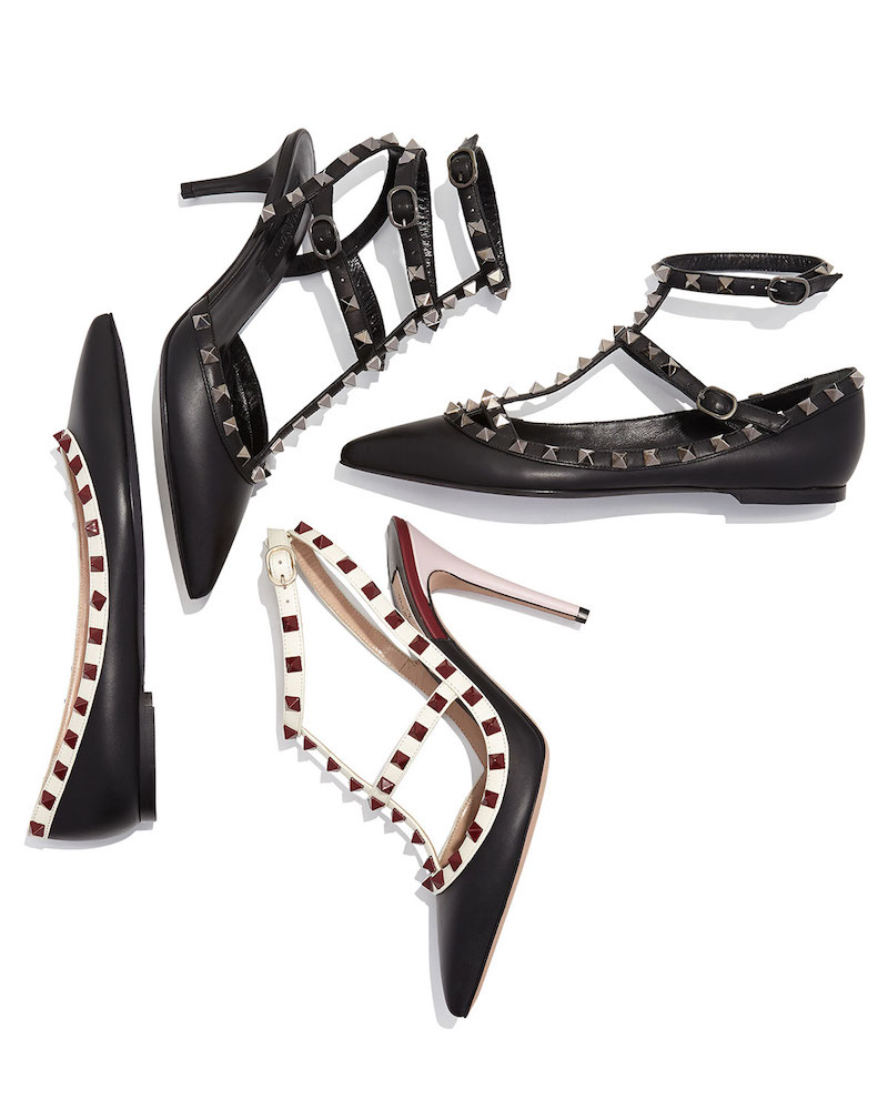Summer 2015 Lineup of The Iconic Valentino Rockstud Shoes
