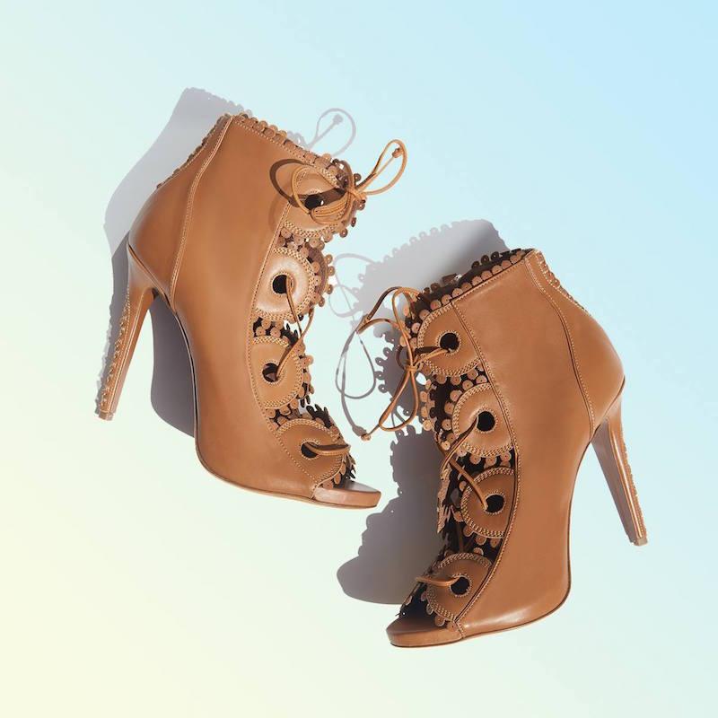 Tabitha Simmons Dakota Lace-up Leather Boots