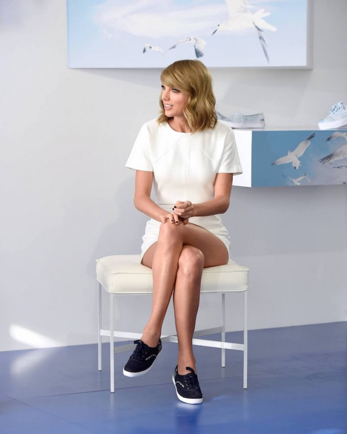 "Taylor Swift for Keds ""Welcome to New York"" Champion Sneaker"