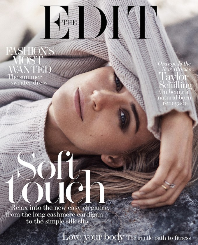 The Breakout Star: Taylor Schilling for The EDIT_Cover