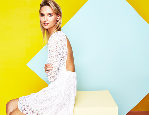 The Crisp Classic Little White Dresses at MYHABIT