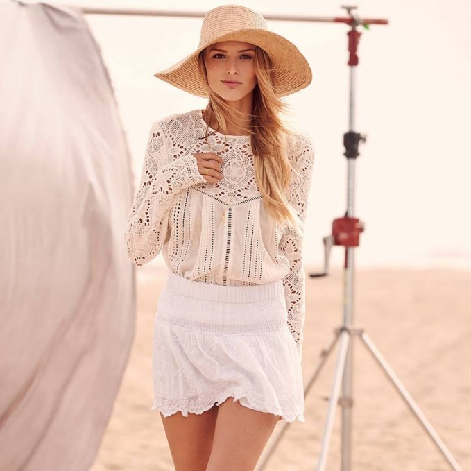 The Jetset Diaries Thinking About You Top