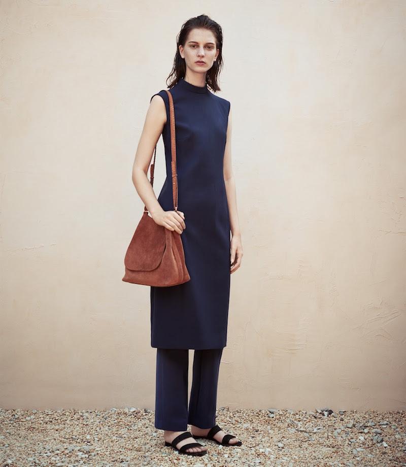 The Row Mock-Neck Elano Dress