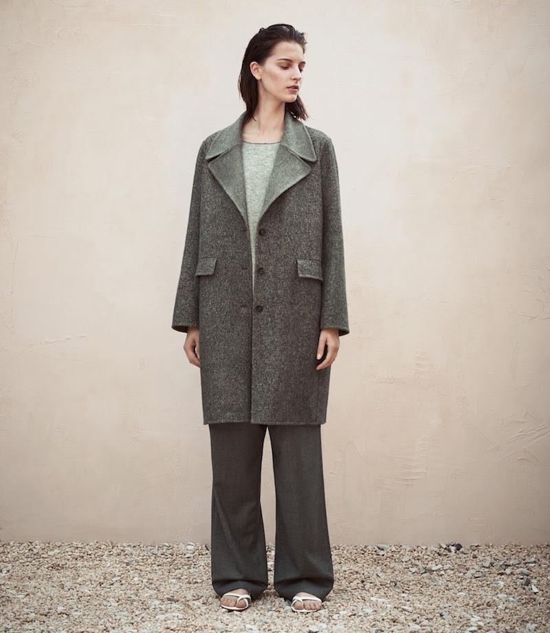 The Row Tweed Oversize Sonja Coat