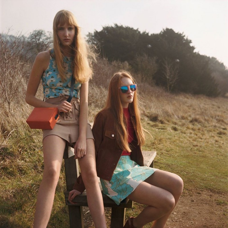 Topshop 70s Fashion & Trends Lookbook12