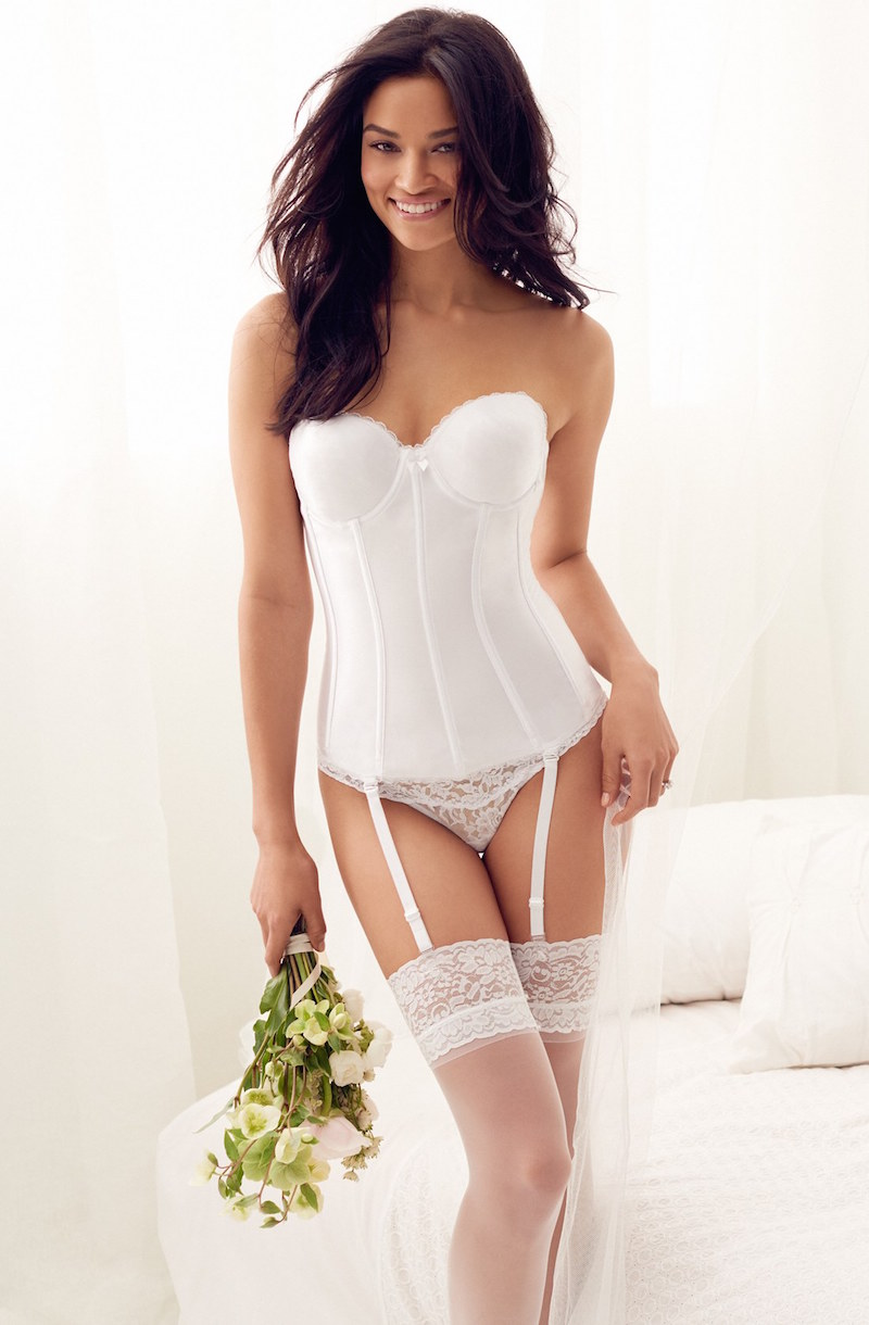 Va Bien Smooth Satin Hourglass Bustier