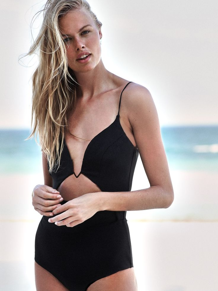 Zimmermann Marisol Bonded Peak Wire Swimsuit