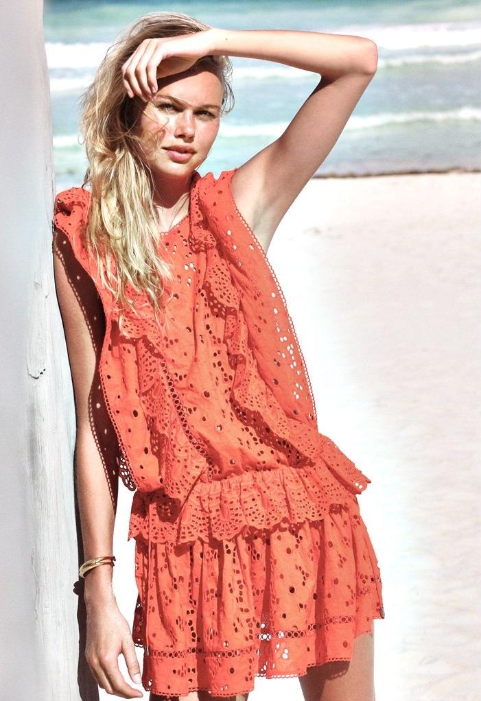 Zimmermann Marisol Eyelet Flip Dress