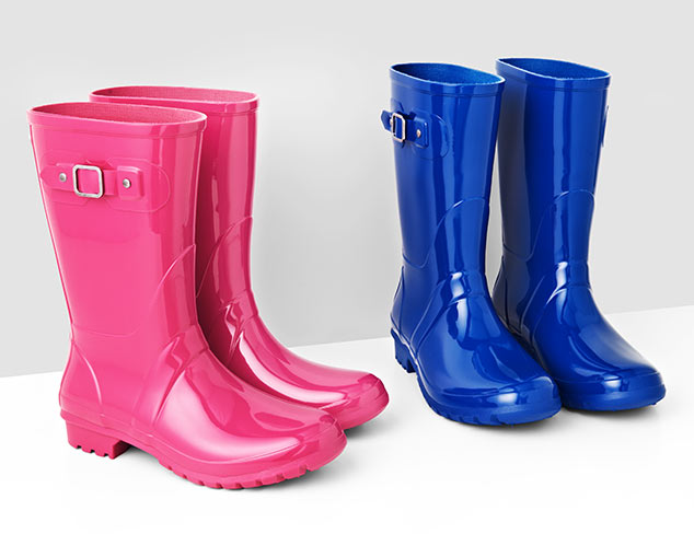 $59 & Under Classic & Colorful Rainboots at MYHABIT