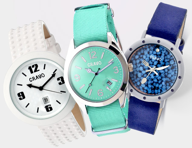 80 Off Crayo Watches at MYHABIT