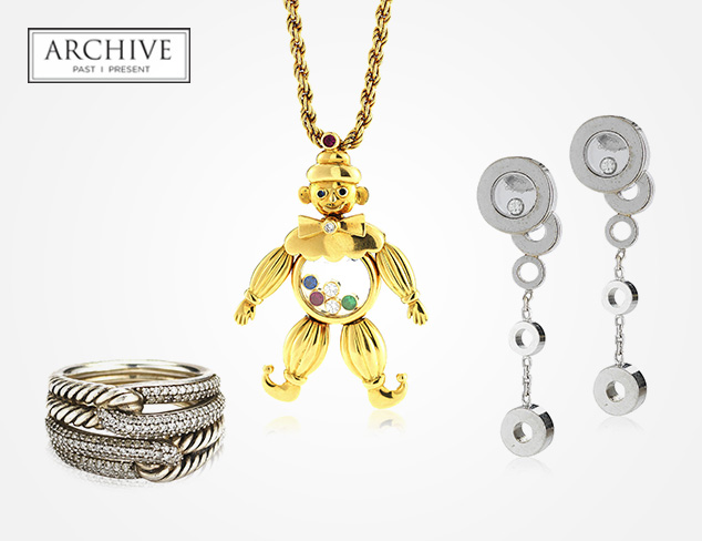 ARCHIVE Jewelry feat. David Yurman & Cartier at MYHABIT