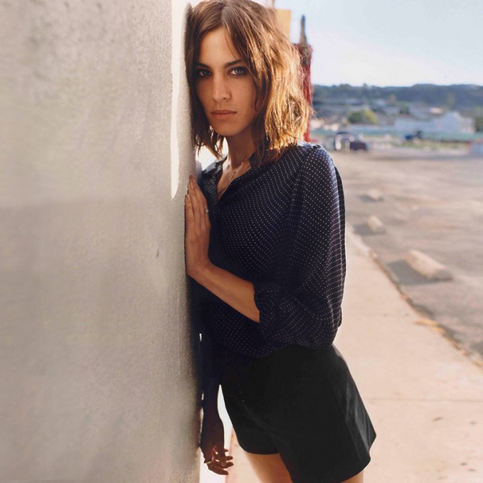 Alexa Chung for AG Fall 2015 AD Campaign