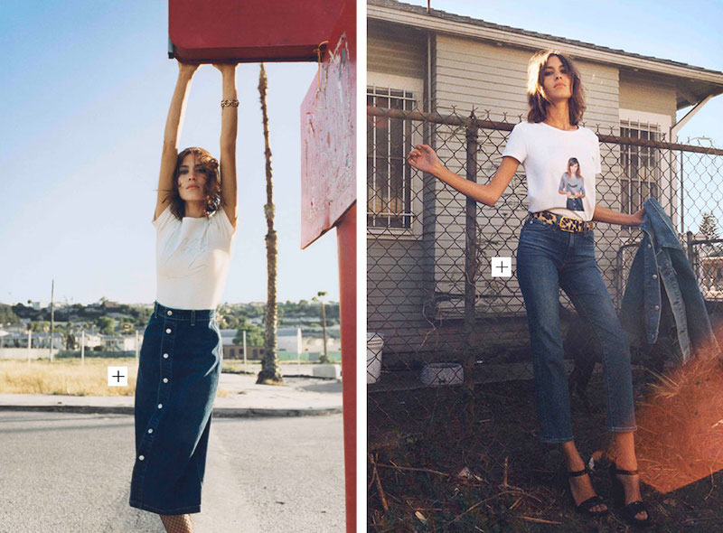 Alexa Chung for AG Fall 2015 Collection_4