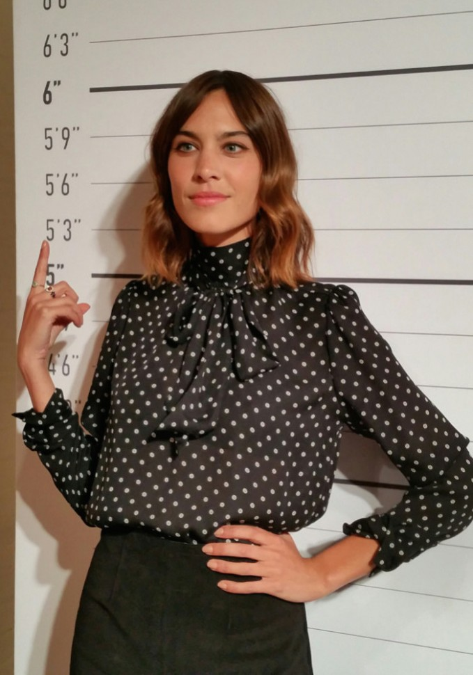 Alexa Chung for AG Fall Winter 2015 Collection_1