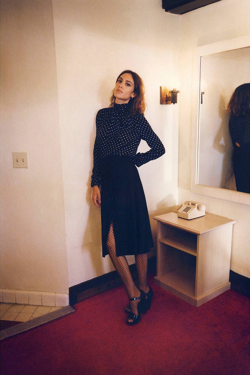 Alexa Chung for AG Fall Winter 2015 Collection_3
