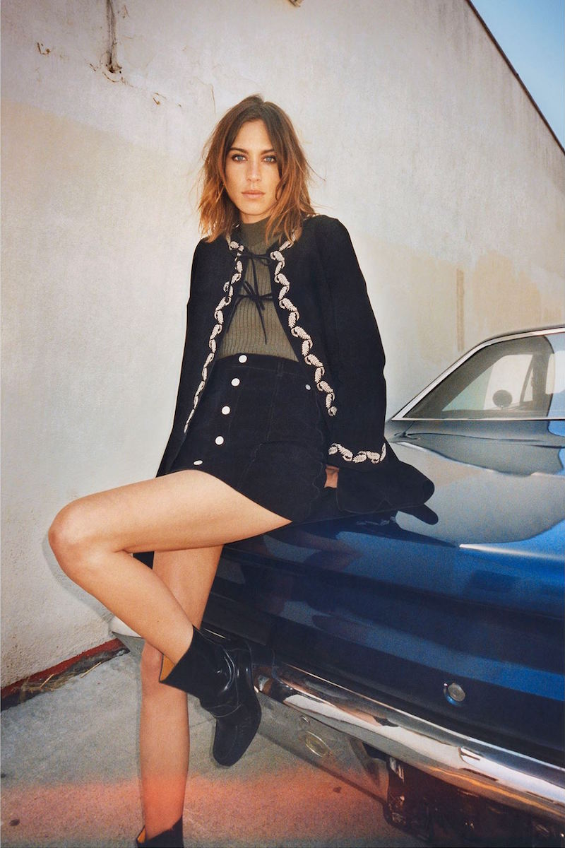 Alexa Chung for AG Fall Winter 2015 Collection_4