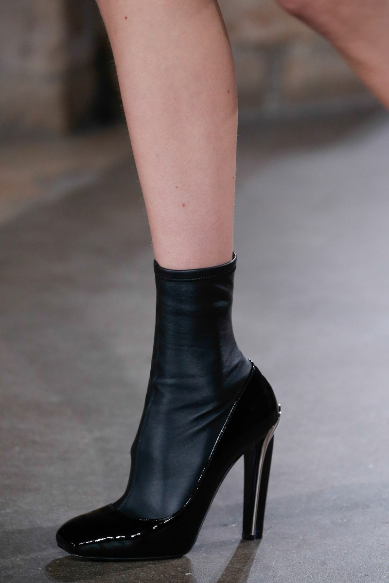 Alexander McQueen Stretch High-Heel Ankle Boot