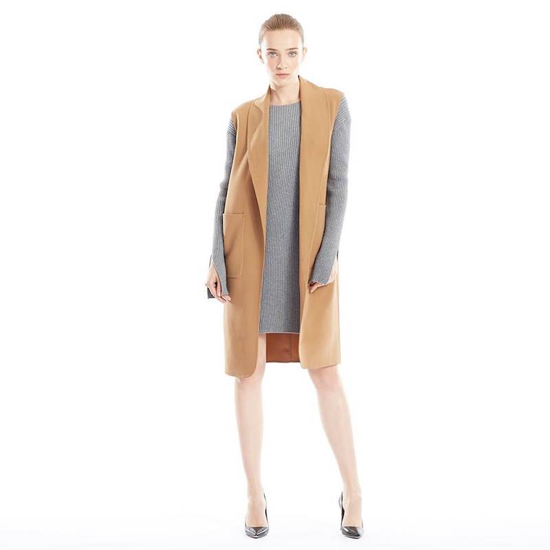 Alexander Wang Oversized Stretch Wool Vest