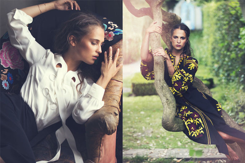Alicia Vikander for The EDIT-5