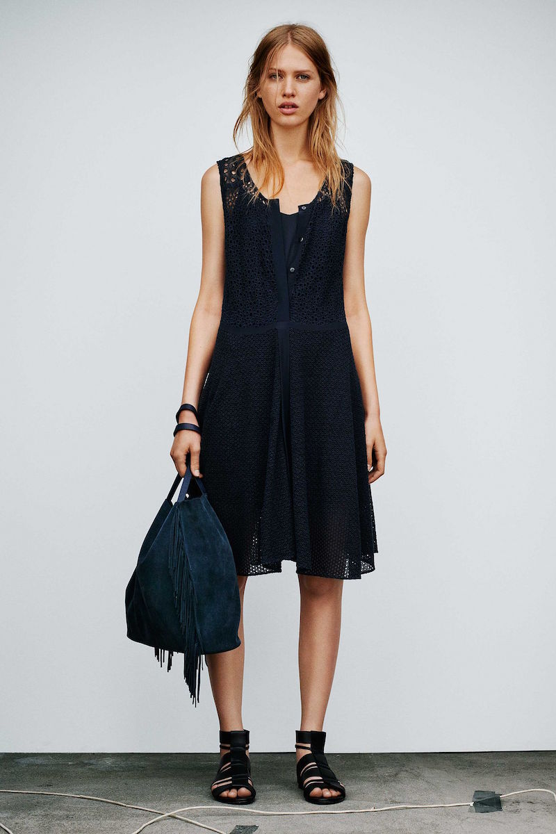 AllSaints Glesni Vest Dress