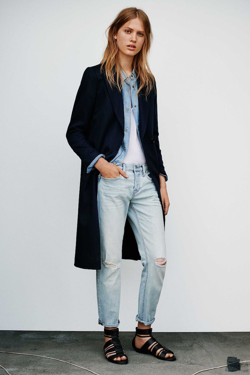 AllSaints Vice Split Coat