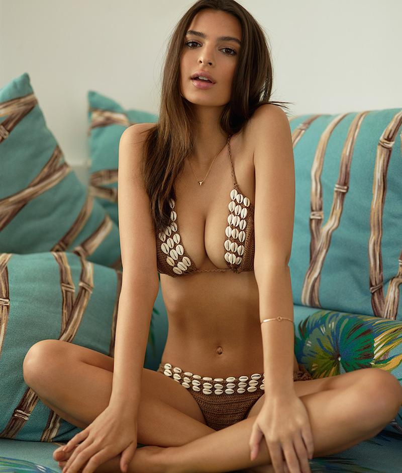 Anna Kosturova Seashore Bikini Top
