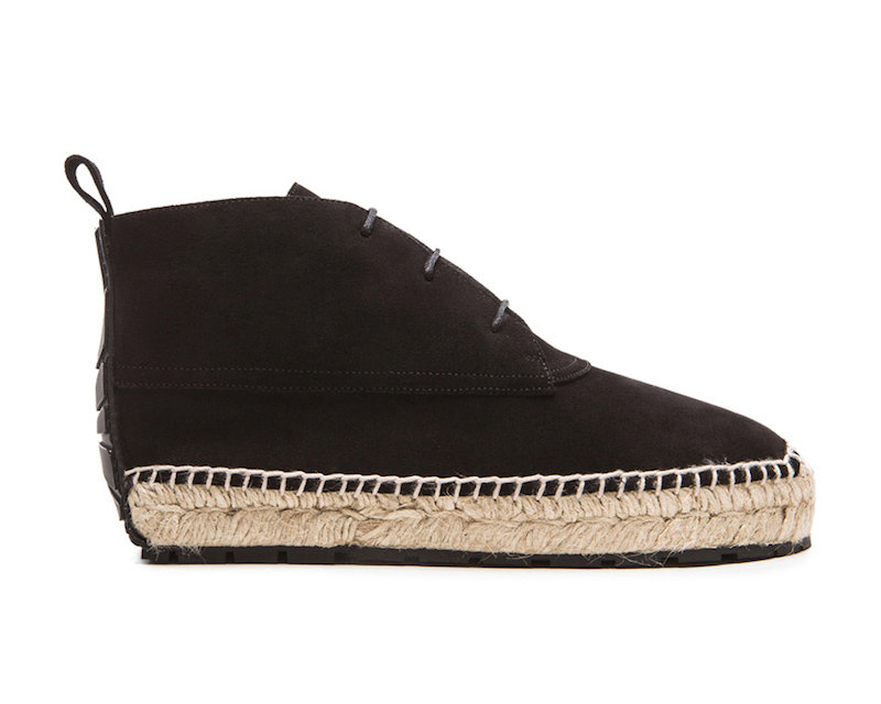 Balenciaga Espadrille Suede Ankle Boots
