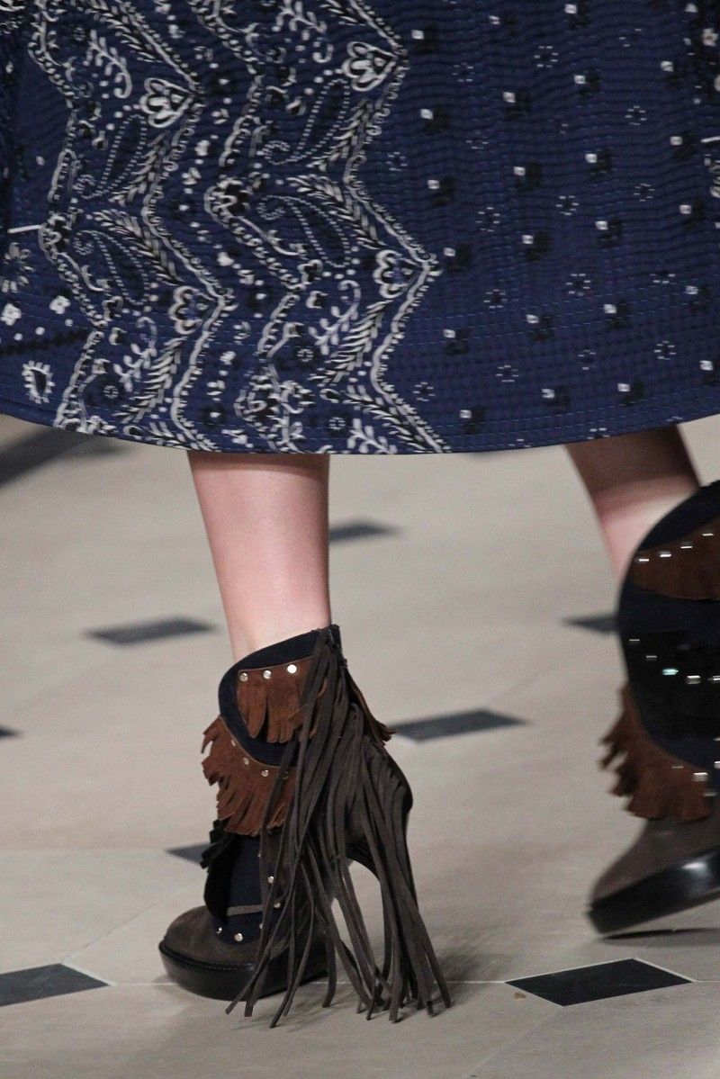 Burberry Lilybell Studded Fringe Bootie