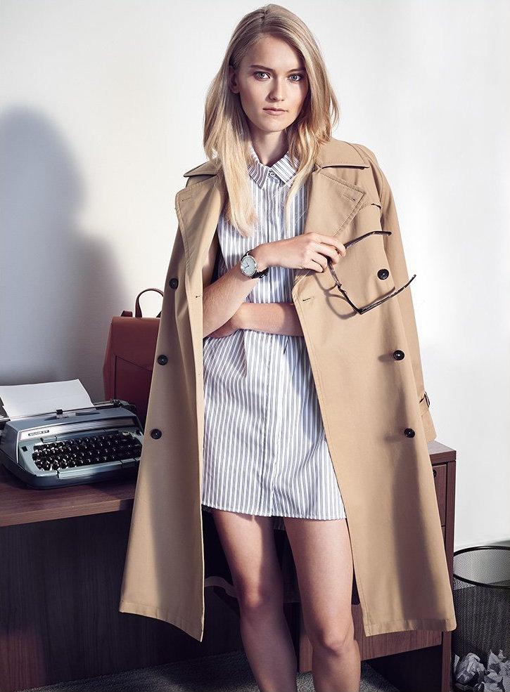Caroline Constas Alexandra Stripe Shirtdress